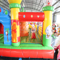PVC material 0.55mm Large fun city inflatable manufacturer