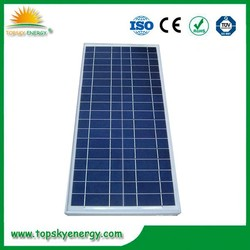 The lowest price solar panel 30w polycrystalline with CE ISO
