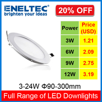 Christmas special offer 9watt dimmable 6 inch ultra slim led downlight big sale