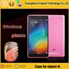 Hot saling cheap transparent tpu phone case for xiaomi mi 4i
