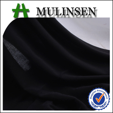 Mulinsen Textile High Quality 60s*60s Plain Woven Solid Dyed 100% Viscose Rayon Fabric