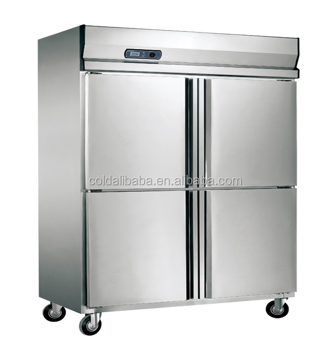 4 Doors Commercial Upright Kitchen Refrigerator Kitchen