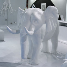 Life size animal statue elephant sculpture for exhibition
