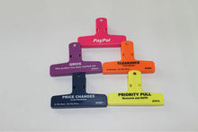 Food seal clip for plastic bag,magnetic clips for bags