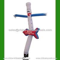HUACANG inflatable toys cooking man inflatable air dancer with arrow