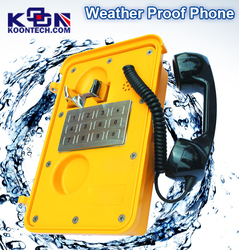 Industrial Telephone Line Connected Auto Dialer Alarm Systems With Keyboard