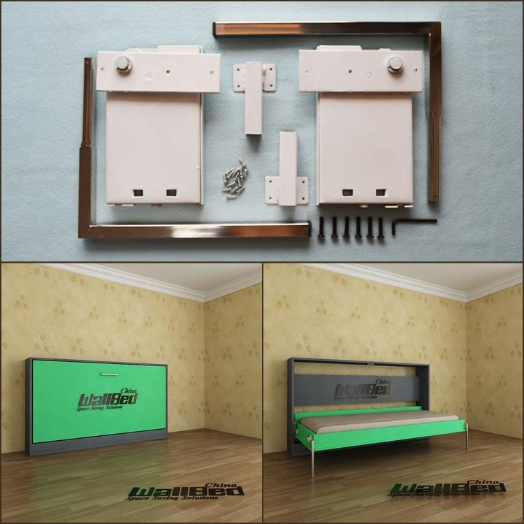 퀸 사이즈 벽 침대 접이식 침대 메커니즘-금속 침대 -상품 ID ...