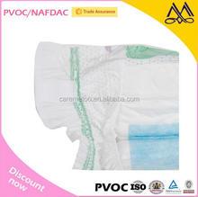 2015 Hot Sale Disposable Breathable Baby Diaper Unisex with 3D Leak Guard
