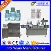 Alibaba gold supplier small bottle washing filling capping machine,china bottle filling