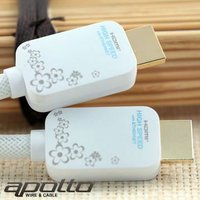 PURE-CHERRY BLOSSOMS High speed 24k gold plated HDMI Cable with Ethernet for hdmi input usb output