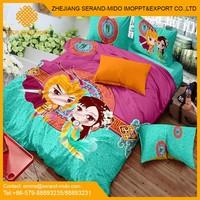 100% cotton kids cartoon bedding set, kids bedding sets, Children cartoon duvet cover