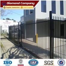 decorative iron fence steel fence,prefab iron fence panels,corten steel fence