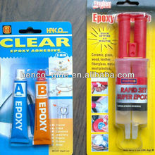 5 minutes 20ml transparent clear epoxy glue in tube