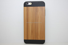 OEM Welcome , New Arrival Hot Selling TPU+PC Wooden Case for iPhone 6 Plus Made in China Factory