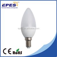 candle led bulb c37 e14 e27 230v led suspended ceiling light for decoration