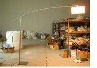 Adesso Outreach Satin Steel Arc Floor Lamp ST4134-22