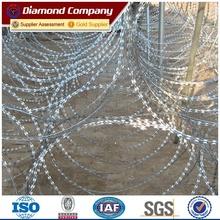 triple coil Concertina razor edge wire 980mm diameter