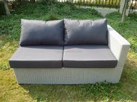 rattan outdoor garden furniture corner group large sofa set