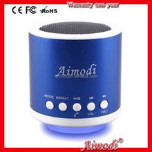 New design portable bluetooth wireless speaker mini with led light 2015