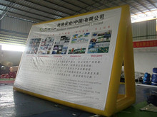 Custom design Inflatable Advertising Products PVC Billboard for Promotion