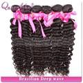 Gran stock 6a 100% cabello virgen brasileño, pelo remy brasileño paquetes