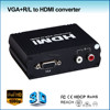 VGA to HDMI Converter with Stereo Audio Support 1080P