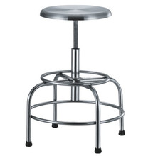 Laboratory Stool Made in Stainless Steel