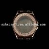 Women diamond fashionable watch automatic movement watches case