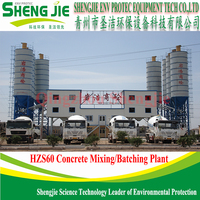 Measuring Nicety Concrete Mixing Plant For Construction