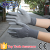 NMSAFETY cheap work gloves electrical safety gloves pu coated gloves