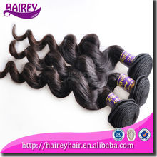 Popular Malaysian 8A Loose Wave Hair Form Clip In Curly Hair Extension