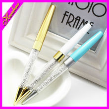 wholesale crystals pens/Rhinestone crystal pen/ crystal metal pen