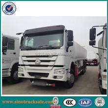 2015 Sinotruk 6x4 oil tank truck China howo 6x4 20000L fuel tank truck petroleum oil tanker truck for sale