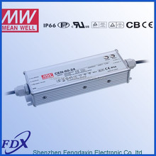 Meanwell led lighting driver,display driver 60w CEN-60-54