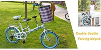double seat bicycle/ mother and baby bicycle/baby seat bicycle