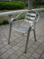 famous stainless steel double welding chair
