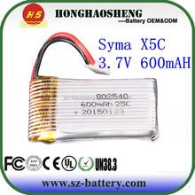 syma xc5 600mah battery,802540 polymer li ion battery charger circuit