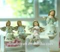 clásica para dormir de ángel de resina de antigüedades en miniatura figura de ángel