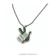 Hot Sale UAE Victor Hand Shape Necklace For National Day Gifts