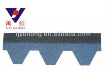 blue color Bitumen Shingles