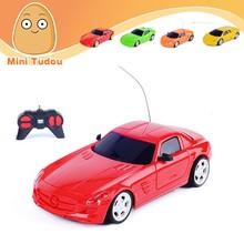1:24 RC Car with LED lights 4 CH rc car radio control remote control toy car
