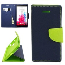 Wholesale Mix Color Style Stand Leather Wallet Flip Case for LG G Vista
