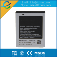 ShenZhen supplier for EB494353VU mobile phone batteries GT S5570 S5578 I559 I339 C6712 S5330