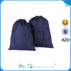 2015 china supplier Blank Cotton Muslin Drawstring Bag