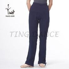 2015 nueva loose algodón balck pantalones