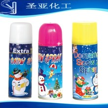 aerosol party flying Snow Spray for glass, 6 colors