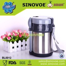 Stainless steel drinkware type thermos food vacuum flask lunch box