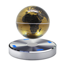 6 inches magnetic floating globe for desk decoration