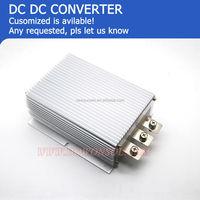 50A 12v dc input 24v dc output battery charger for cars solar panel