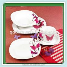 dubai dinnerware set/porcelain commercial dinnerware set